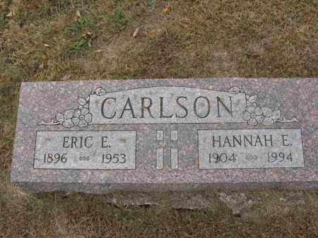 CARLSON, HANNAH E. - Burt County, Nebraska | HANNAH E. CARLSON - Nebraska Gravestone Photos
