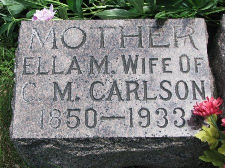 CARLSON, ELLA MALINDA  - Burt County, Nebraska   ELLA MALINDA  CARLSON - Nebraska Gravestone Photos