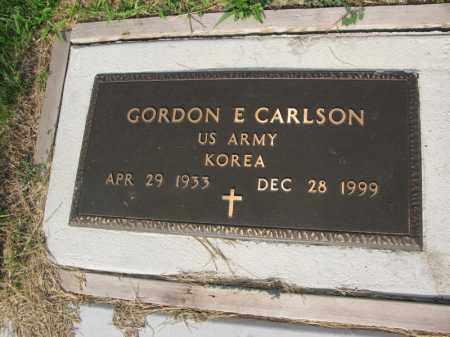 CARLSON, GORDON E. - Burt County, Nebraska | GORDON E. CARLSON - Nebraska Gravestone Photos