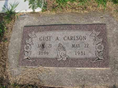 CARLSON, GUST A. - Burt County, Nebraska | GUST A. CARLSON - Nebraska Gravestone Photos