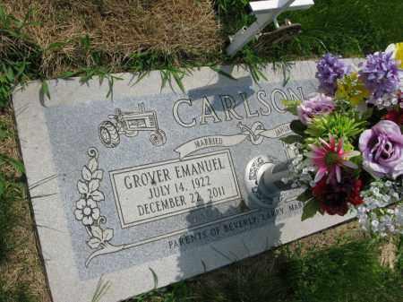 CARLSON, GROVER EMANUEL - Burt County, Nebraska   GROVER EMANUEL CARLSON - Nebraska Gravestone Photos