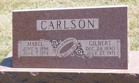 CARLSON, MABEL - Burt County, Nebraska   MABEL CARLSON - Nebraska Gravestone Photos