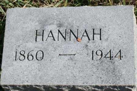 CARLSON, HANNAH - Burt County, Nebraska   HANNAH CARLSON - Nebraska Gravestone Photos