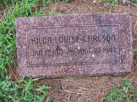 CARLSON, HILDA LOUISE - Burt County, Nebraska | HILDA LOUISE CARLSON - Nebraska Gravestone Photos