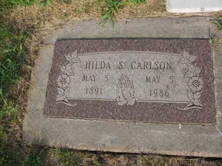 CARLSON, HILDA S. - Burt County, Nebraska | HILDA S. CARLSON - Nebraska Gravestone Photos