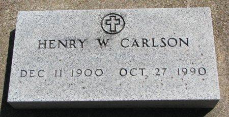 CARLSON, HENRY W. - Burt County, Nebraska | HENRY W. CARLSON - Nebraska Gravestone Photos