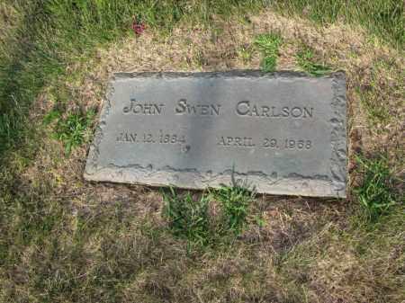 CARLSON, JOHN SWEN - Burt County, Nebraska | JOHN SWEN CARLSON - Nebraska Gravestone Photos
