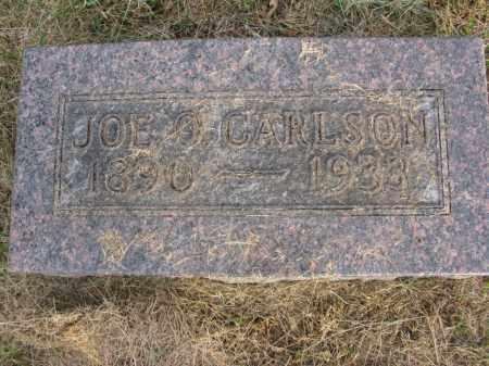 CARLSON, JOE O. - Burt County, Nebraska   JOE O. CARLSON - Nebraska Gravestone Photos