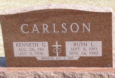 CARLSON, KENNETH G. - Burt County, Nebraska | KENNETH G. CARLSON - Nebraska Gravestone Photos