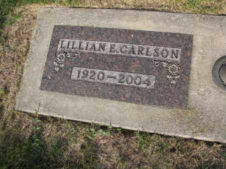 CARLSON, LILLIAN E. - Burt County, Nebraska | LILLIAN E. CARLSON - Nebraska Gravestone Photos