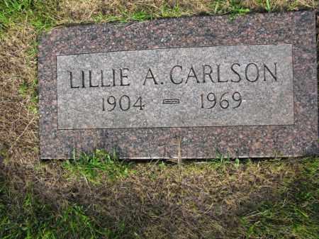 CARLSON, LILLIE A. - Burt County, Nebraska | LILLIE A. CARLSON - Nebraska Gravestone Photos
