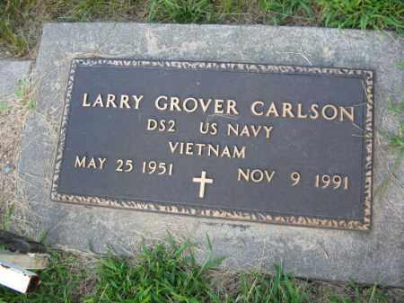 CARLSON, LARRY GROVER - Burt County, Nebraska | LARRY GROVER CARLSON - Nebraska Gravestone Photos