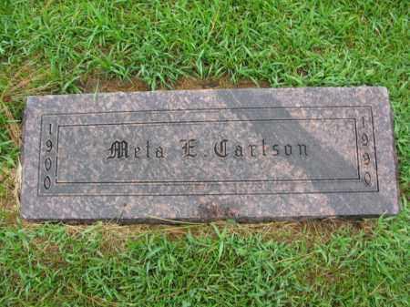 CARLSON, META E. - Burt County, Nebraska   META E. CARLSON - Nebraska Gravestone Photos