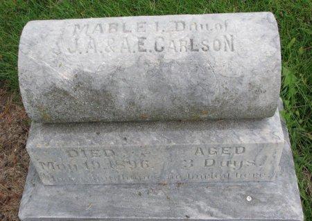 CARLSON, MABLE I. - Burt County, Nebraska | MABLE I. CARLSON - Nebraska Gravestone Photos