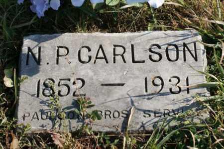 CARLSON, N.P. - Burt County, Nebraska | N.P. CARLSON - Nebraska Gravestone Photos