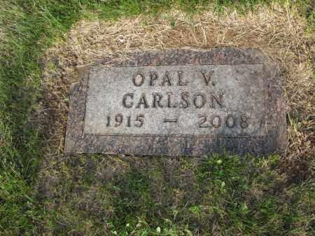 CARLSON, OPAL V. - Burt County, Nebraska | OPAL V. CARLSON - Nebraska Gravestone Photos