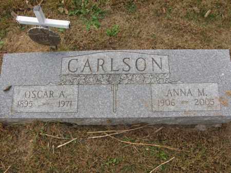 CARLSON, ANNA M. - Burt County, Nebraska   ANNA M. CARLSON - Nebraska Gravestone Photos