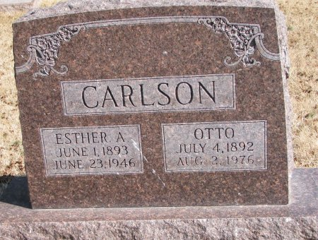 CARLSON, OTTO - Burt County, Nebraska | OTTO CARLSON - Nebraska Gravestone Photos