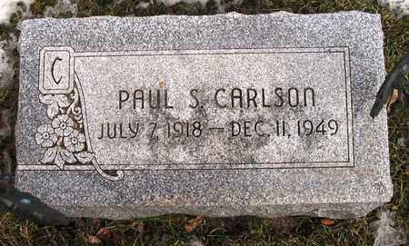 CARLSON, PAUL S. - Burt County, Nebraska | PAUL S. CARLSON - Nebraska Gravestone Photos