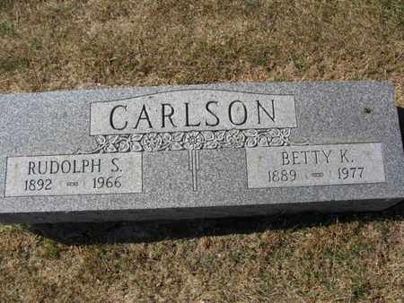 CARLSON, BETTY K. - Burt County, Nebraska | BETTY K. CARLSON - Nebraska Gravestone Photos