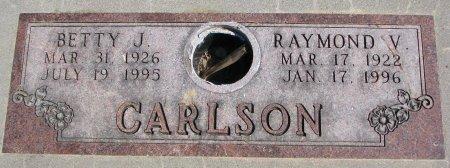CARLSON, BETTY J. - Burt County, Nebraska | BETTY J. CARLSON - Nebraska Gravestone Photos