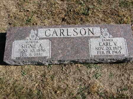 CARLSON, CARL V. - Burt County, Nebraska | CARL V. CARLSON - Nebraska Gravestone Photos