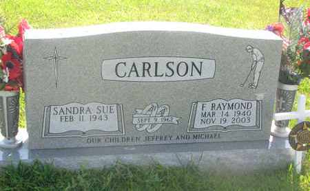 CARLSON, F. RAYMOND - Burt County, Nebraska | F. RAYMOND CARLSON - Nebraska Gravestone Photos