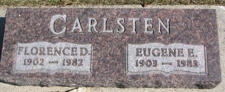 CARLSTEN, EUGENE E. - Burt County, Nebraska | EUGENE E. CARLSTEN - Nebraska Gravestone Photos