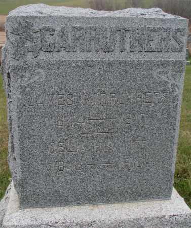 CARRUTHERS, JAMES - Burt County, Nebraska   JAMES CARRUTHERS - Nebraska Gravestone Photos