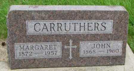 CARRUTHERS, JOHN - Burt County, Nebraska   JOHN CARRUTHERS - Nebraska Gravestone Photos