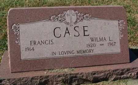 CASE, WILMA L. - Burt County, Nebraska | WILMA L. CASE - Nebraska Gravestone Photos