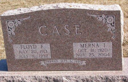 CASE, MERNA I. - Burt County, Nebraska | MERNA I. CASE - Nebraska Gravestone Photos