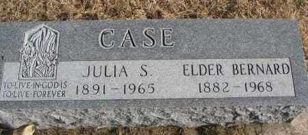 CASE, JULIA S. - Burt County, Nebraska | JULIA S. CASE - Nebraska Gravestone Photos