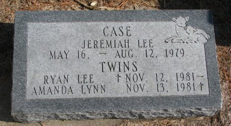 CASE, JEREMIAH LEE - Burt County, Nebraska | JEREMIAH LEE CASE - Nebraska Gravestone Photos