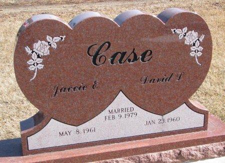 CASE, JACCIE E. - Burt County, Nebraska | JACCIE E. CASE - Nebraska Gravestone Photos