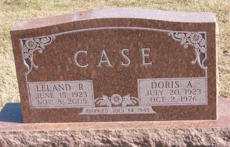 CASE, DORIS A. - Burt County, Nebraska | DORIS A. CASE - Nebraska Gravestone Photos
