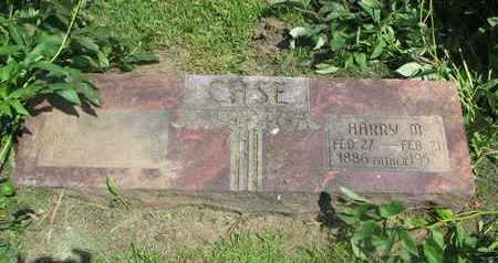 CASE, HARRY M. - Burt County, Nebraska | HARRY M. CASE - Nebraska Gravestone Photos