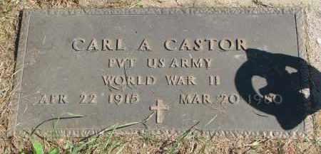 CASTOR, CARL A. (WW II) - Burt County, Nebraska | CARL A. (WW II) CASTOR - Nebraska Gravestone Photos