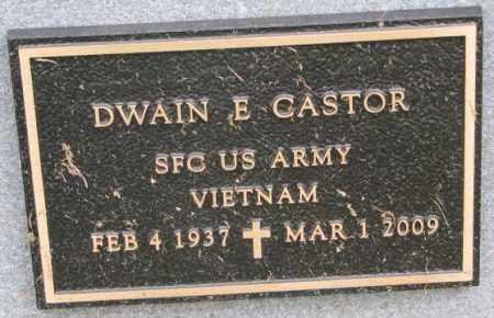 CASTOR, DWAIN E. (MILITARY) - Burt County, Nebraska | DWAIN E. (MILITARY) CASTOR - Nebraska Gravestone Photos