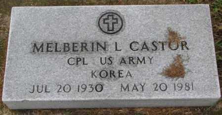 CASTOR, MELBERIN L. (MILITARY) - Burt County, Nebraska | MELBERIN L. (MILITARY) CASTOR - Nebraska Gravestone Photos