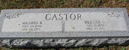 CASTOR, MILDRED B. - Burt County, Nebraska | MILDRED B. CASTOR - Nebraska Gravestone Photos