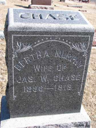 CHASE, BERTHA - Burt County, Nebraska | BERTHA CHASE - Nebraska Gravestone Photos