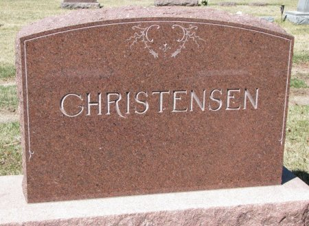 CHRISTENSEN, *FAMILY MONUMENT - Burt County, Nebraska | *FAMILY MONUMENT CHRISTENSEN - Nebraska Gravestone Photos