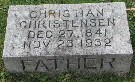 CHRISTENSEN, CHRISTIAN - Burt County, Nebraska | CHRISTIAN CHRISTENSEN - Nebraska Gravestone Photos