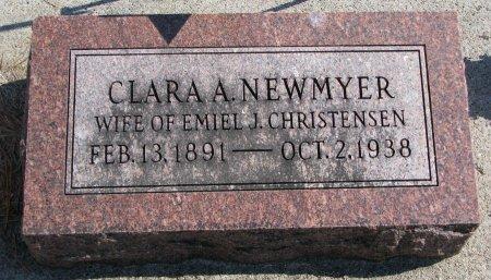 CHRISTENSEN, CLARA A. - Burt County, Nebraska | CLARA A. CHRISTENSEN - Nebraska Gravestone Photos