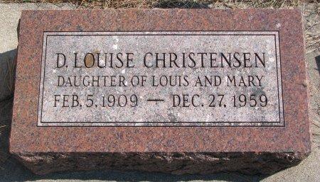 CHRISTENSEN, D. LOUISE - Burt County, Nebraska | D. LOUISE CHRISTENSEN - Nebraska Gravestone Photos