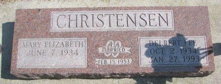 CHRISTENSEN, MARY ELIZABETH - Burt County, Nebraska | MARY ELIZABETH CHRISTENSEN - Nebraska Gravestone Photos