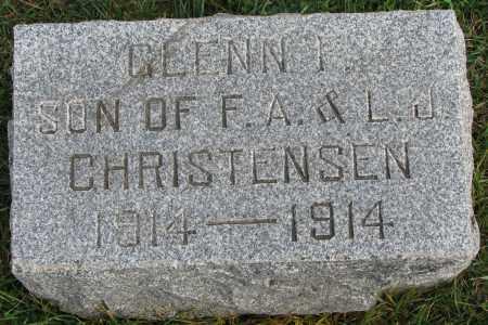 CHRISTENSEN, GLENN F. - Burt County, Nebraska | GLENN F. CHRISTENSEN - Nebraska Gravestone Photos