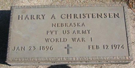 CHRISTENSEN, HARRY A. - Burt County, Nebraska | HARRY A. CHRISTENSEN - Nebraska Gravestone Photos