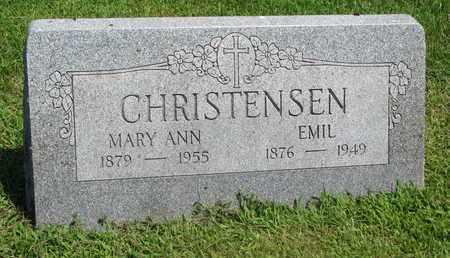 CHRISTENSEN, EMIL - Burt County, Nebraska | EMIL CHRISTENSEN - Nebraska Gravestone Photos